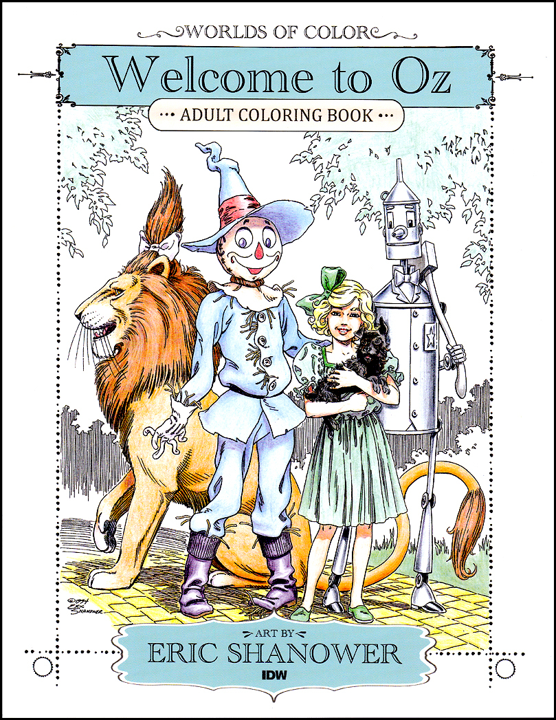 Welcome to Oz - Adult Coloring Book